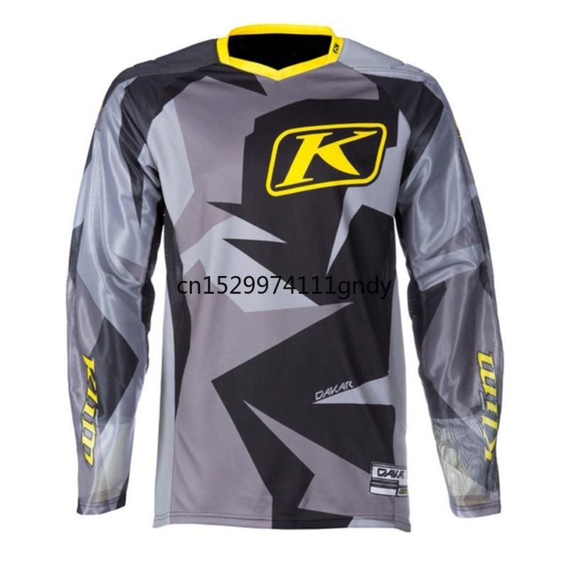 motocross jersey  2019 New Men Enduro Jersey Motocross Downhill Jersey Ropa Cycling Long T-shirt Racing Bike Clothing MX Jersey