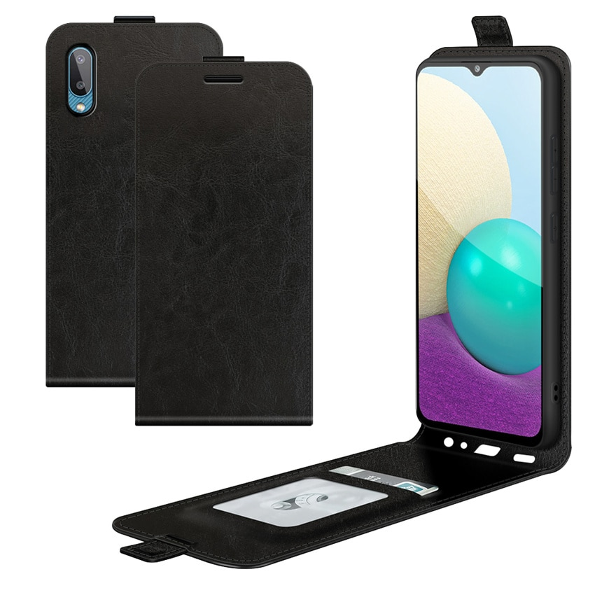 For Samsung Galaxy A02 M02 Case Flip Leather Cases For Samsung Galaxy A02 High Quality Vertical Wall