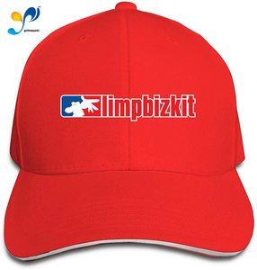 Mens Womens Duck Tongue Cap Adjustable Limp Bizkit Logo Fitted Hat Unisex