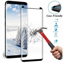9H Protective Tempered Glass for Samsung Galaxy S8 S9 Plus S7 Edge/ Note 8 9 10 Screen Protector 3D