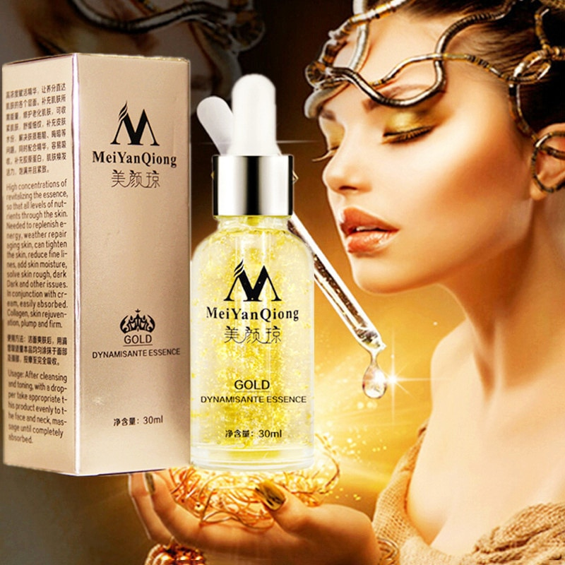 MEIYANQIONG Hyaluronic Acid Face Serum Moisturize Shrink Pores Brighten Improve Fine Lines Lifting Firming Amide Face Essence
