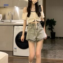 Pure Style Suspender Suit  Women's Design Sense Short Small  Top Summer Half Skirt Short Skirt Sweet