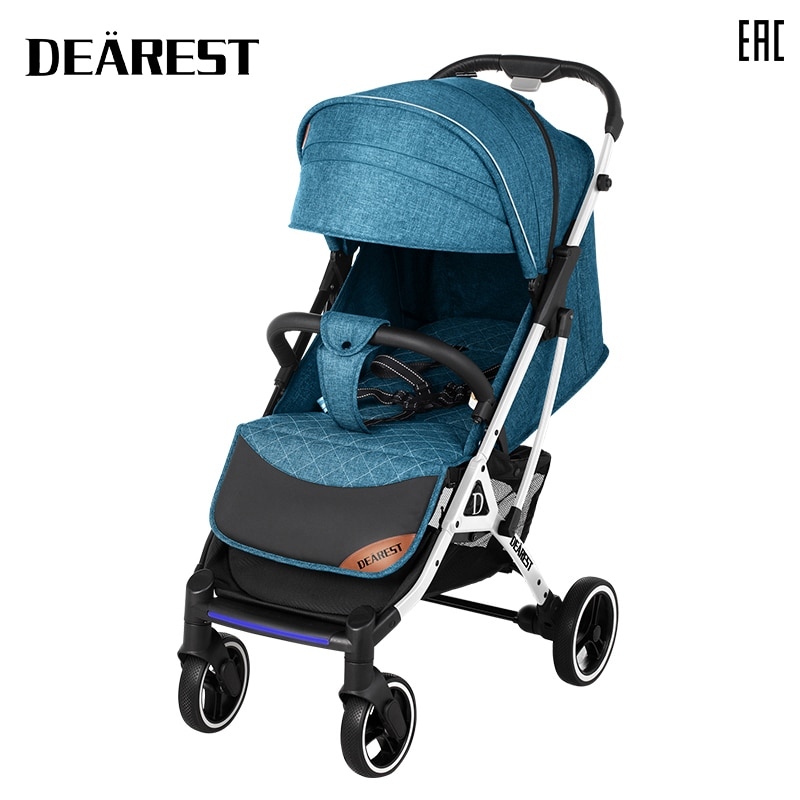 Dearest 819 2021 New Stroller High Landscape Stroller Can Sit Or Lie Foldable Baby Four Seasons Available