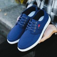 Casual Shoes Canvas Shoes Men Breathable Casual Canvas Men Shoes Walking Men Shoes Chaussure Homme F