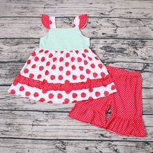 2020 Hot Sell Import Kids Clothing Two Pieces Cotton Baby Clothes Set Kids Clothing Girls' Clothing