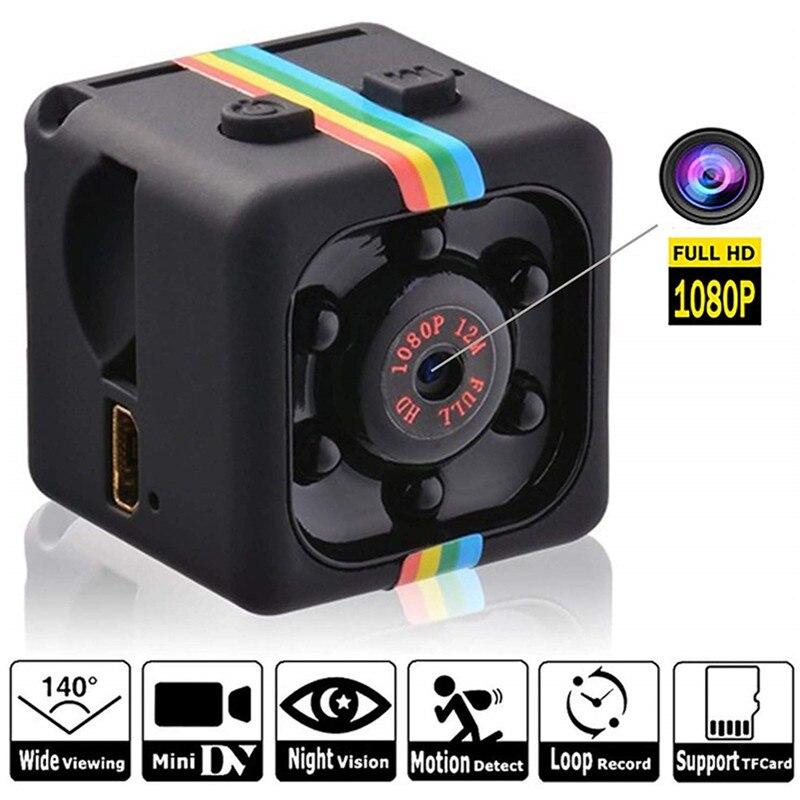 SQ11 мини камера HD 1080P Спорт Dv инфракрасный датчик движения ночного видения карманная маленькая видеокамера camara Espia Oculta шпионская камера SQ 11