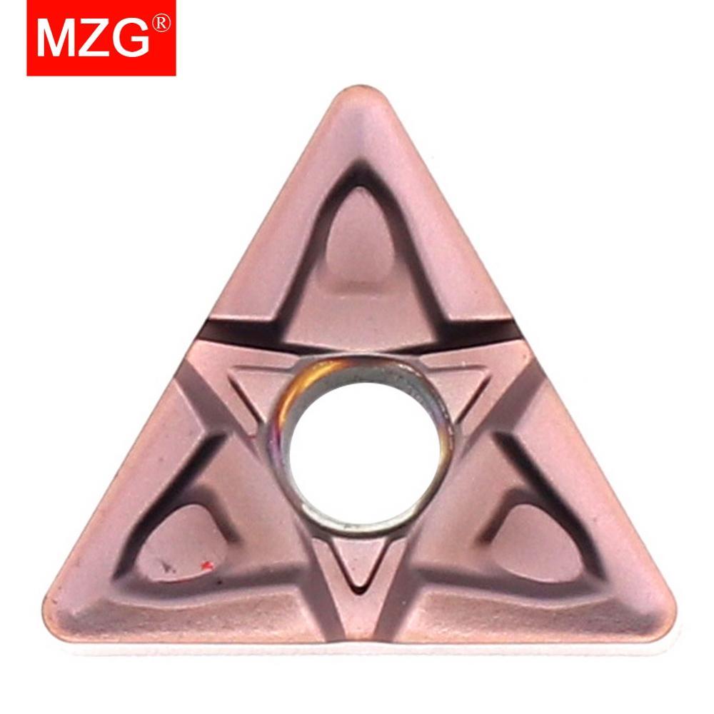MZG TNMG160408 MF ZP1521 CNC Cutting Lathe Tools Turning Boring Carbide Insert for Stainless Steel MTJN MTFN MTUN Holder