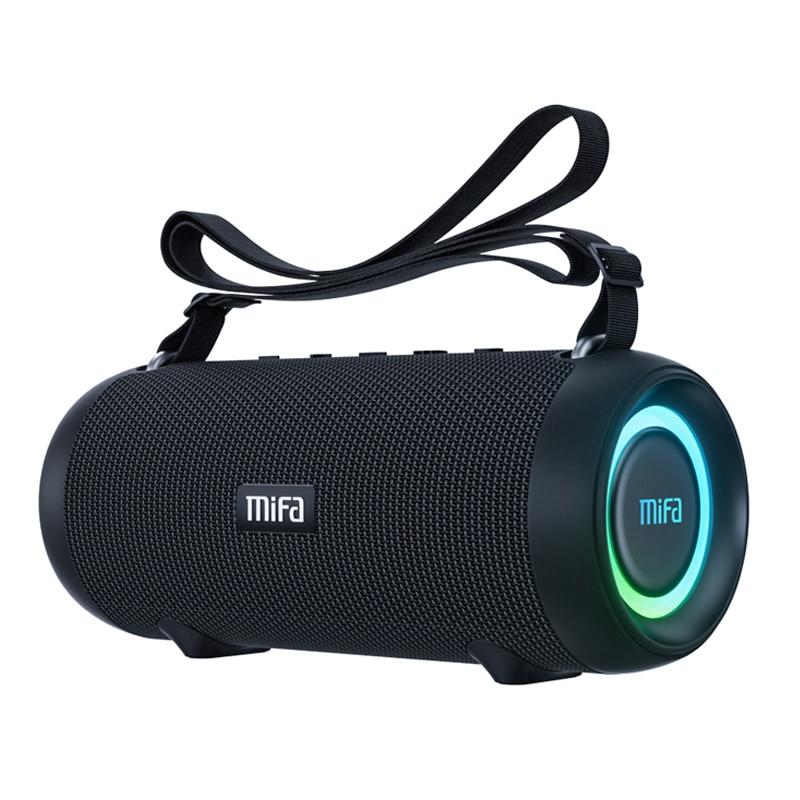 Mifa A90 سمّاعات بلوتوث 60 واط مخرج قوة سمّاعات بلوتوث مع فئة D مضخم صوت ممتاز باس أداء مكبر هاي فاي