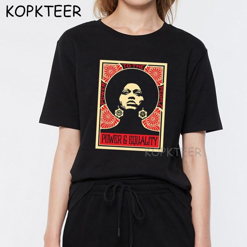 Nouveau noir vies matière t-shirts femmes Harajuku décontracté impression t-shirt hommes Hip Hop t-shirts coton femmes t-shirt Homme Streetwear