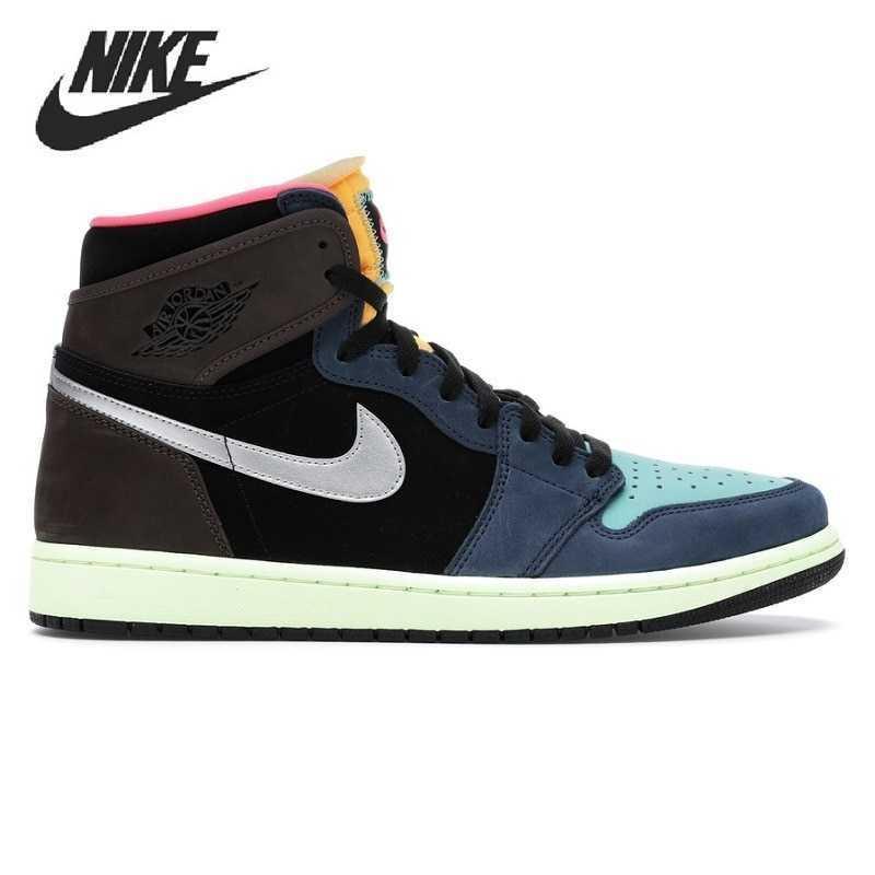 Caliente Nike Air Jordan 1 Zapatista muyahidines Unisex de los hombres de...