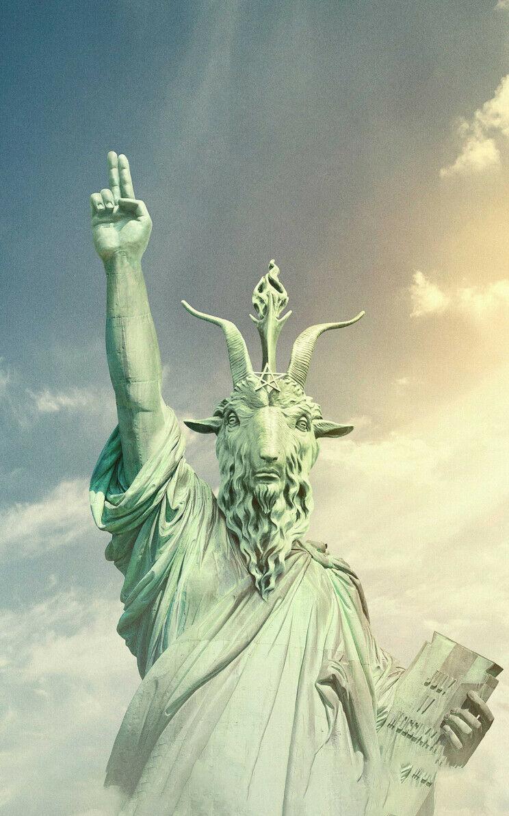 С надписью «HAIL SATAN», арт-Принт по фильму, Шелковый постер, Декор стен дома