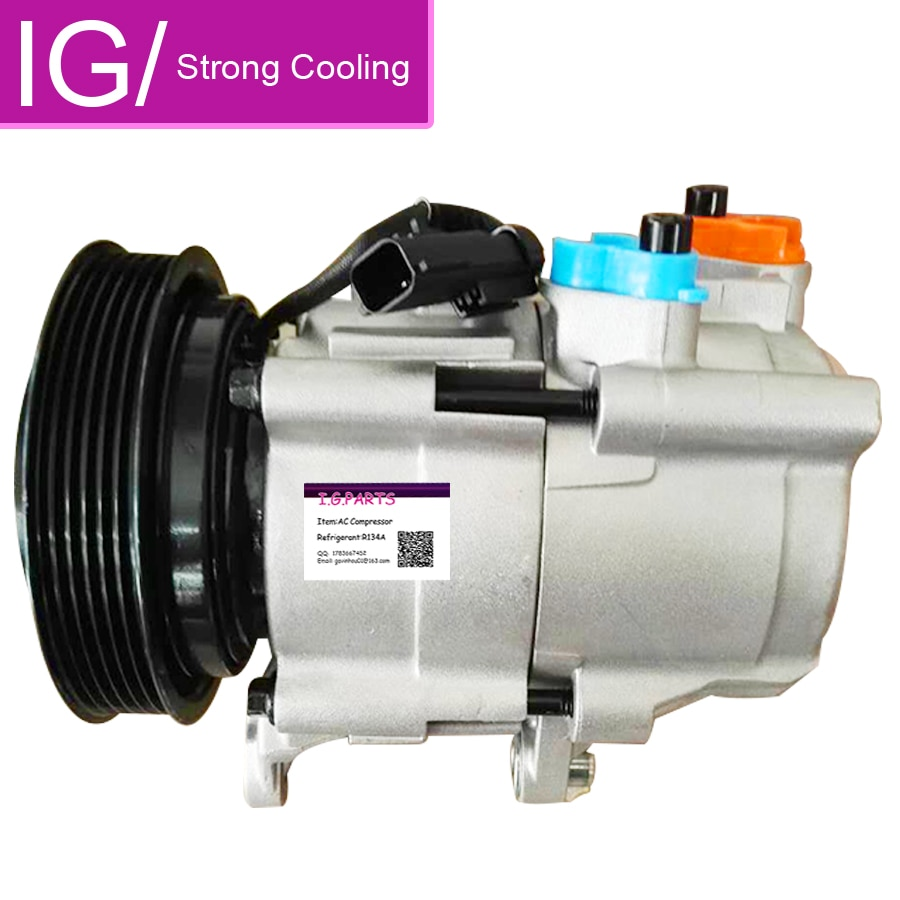 Hs18 compressor ac para jeep liberty para dodge nitro 3.7l compressor ac F500-DM5AA-03 55111400aa 55111400ab r5111400ae 55111400ac