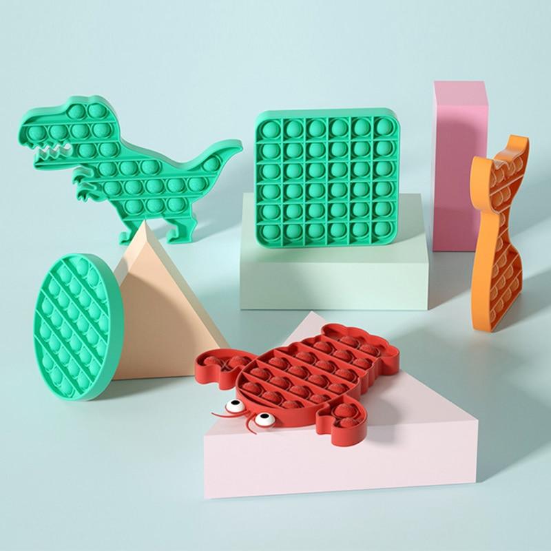2021 Push Bubble Stress Fidget Sensory Toy Squishy Antistress Pattern Reliever Sensory Toys Adult Funny Anti Stress For Kids enlarge