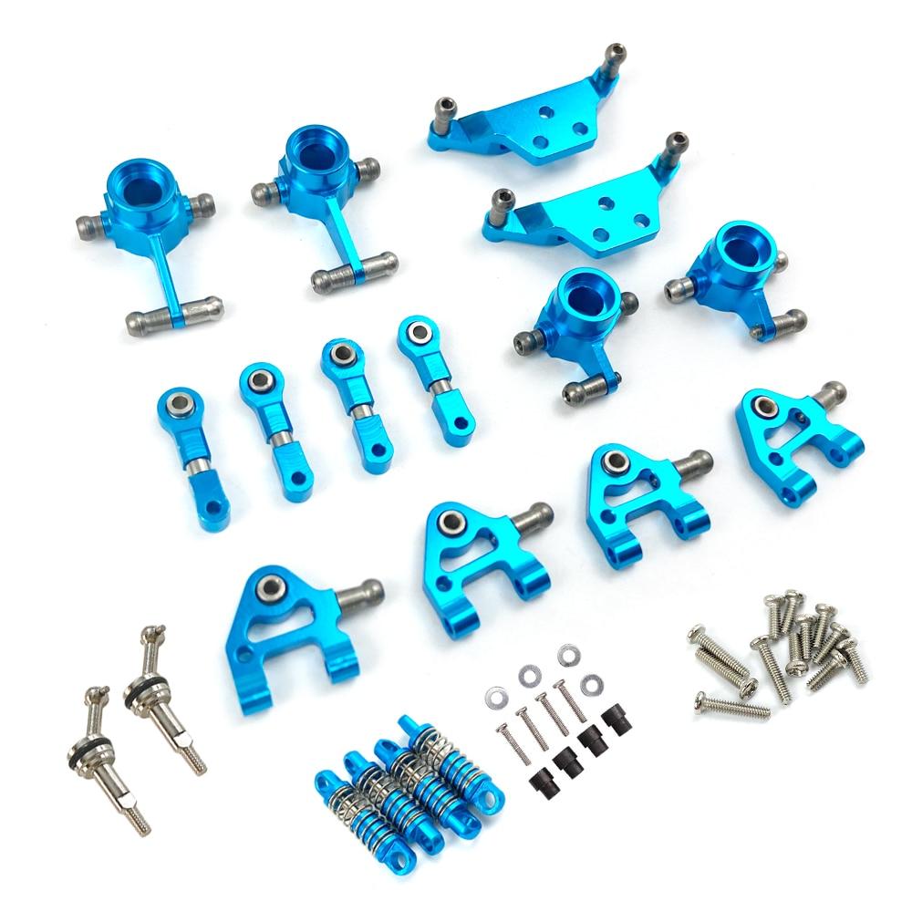 Metal Full Set Upgrade Parts Shock Absorber for Wltoys 1/28 K969 P929 P939 K979 K989 K999 Rc Car Par