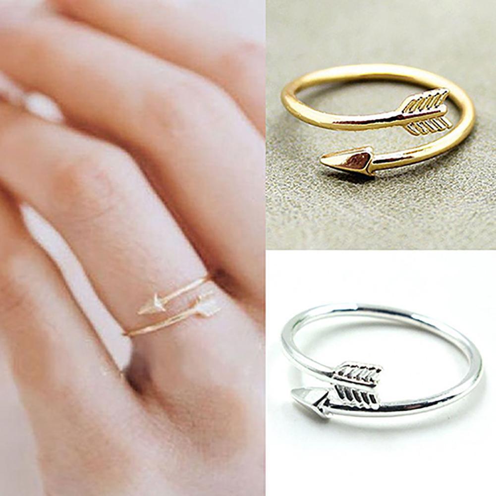 Кольца-для-женщин-модная-обувь-украшенная-стразами-золотой-и-серебряный-цвет-регулируемые-открытые-стрелка-кончик-пальца-кольцо-для-женщи