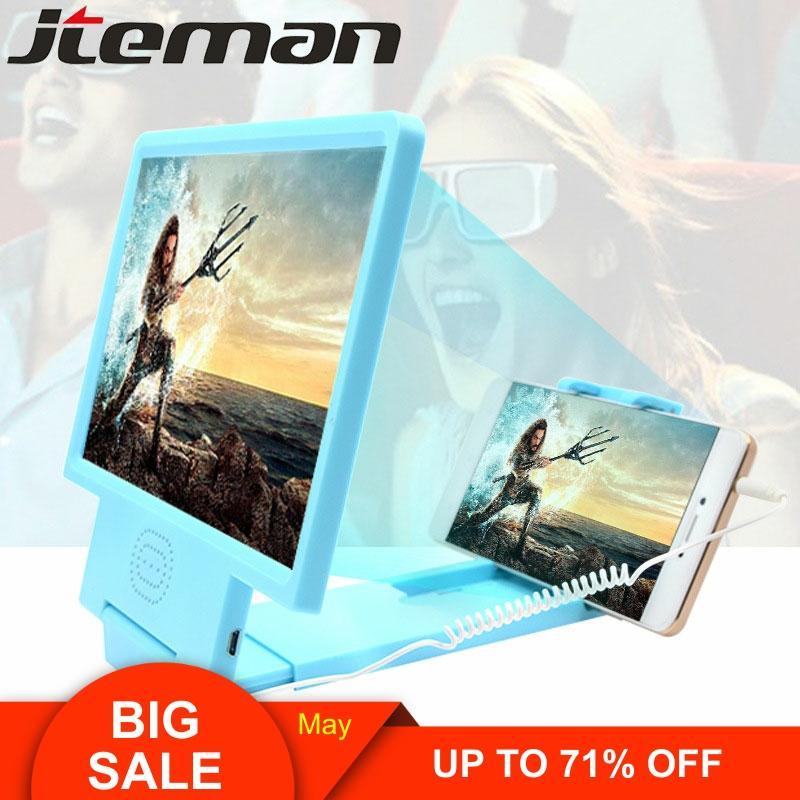 2020 Hot Sale Real Cellulari Phone Screen Amplifier Hd Schermo Smartphone 3d Cinema Aumentador De Pantalla Magnifier Biombo
