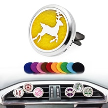 Car Air Freshener Accessories Fragrance For Auto Perfume Interior Decoration Solid Vent Clip Christm