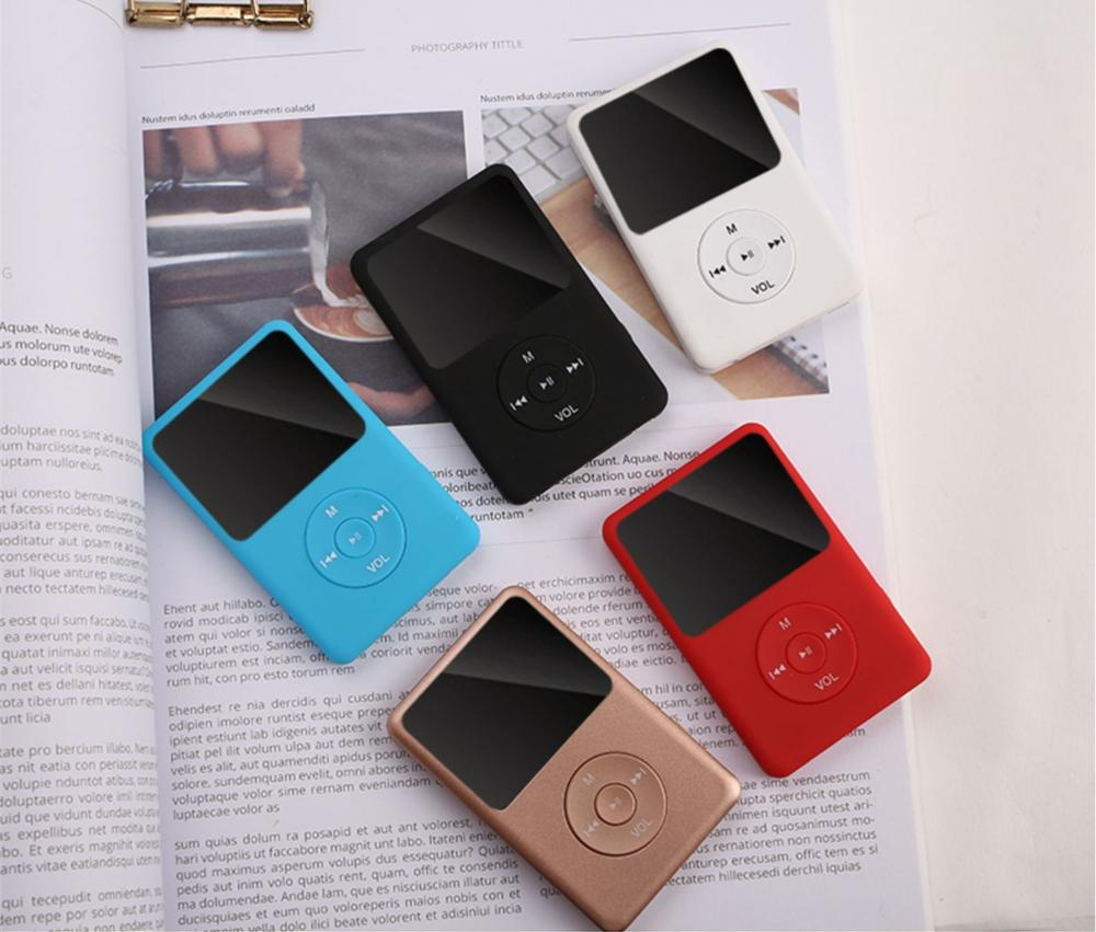 New Version Bluetooth MP3 Music Player with Loud Speaker and built-in 8GB 16GB 32GB HiFi Portable Wa