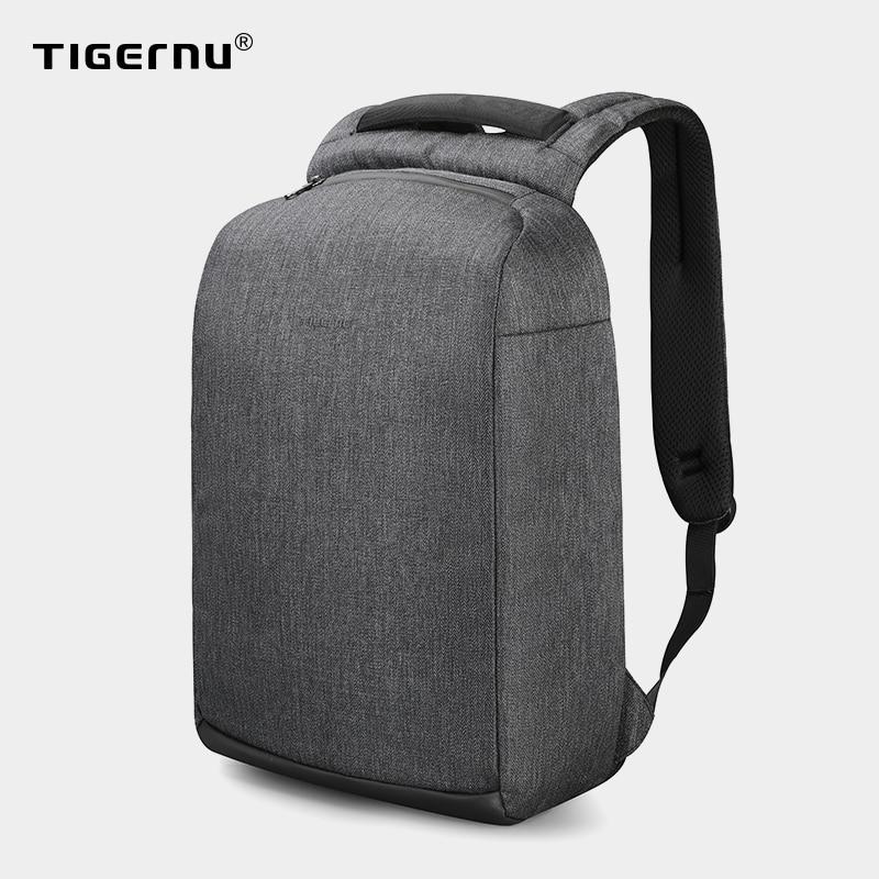 Tigernu New Casual High Quality Waterproof Men Backpack 15.6