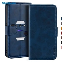 case for lenovo legion 2 pro case magnetic wallet leather cover for lenovo legion phone duel 2 l70081 stand coque phone cases