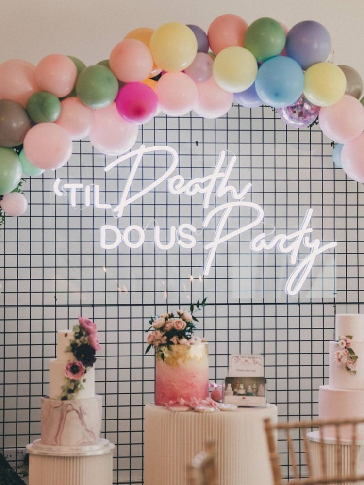 Custom neon birthday decorations, led wall lights, parties, weddings, shops, windows, restaurants enlarge