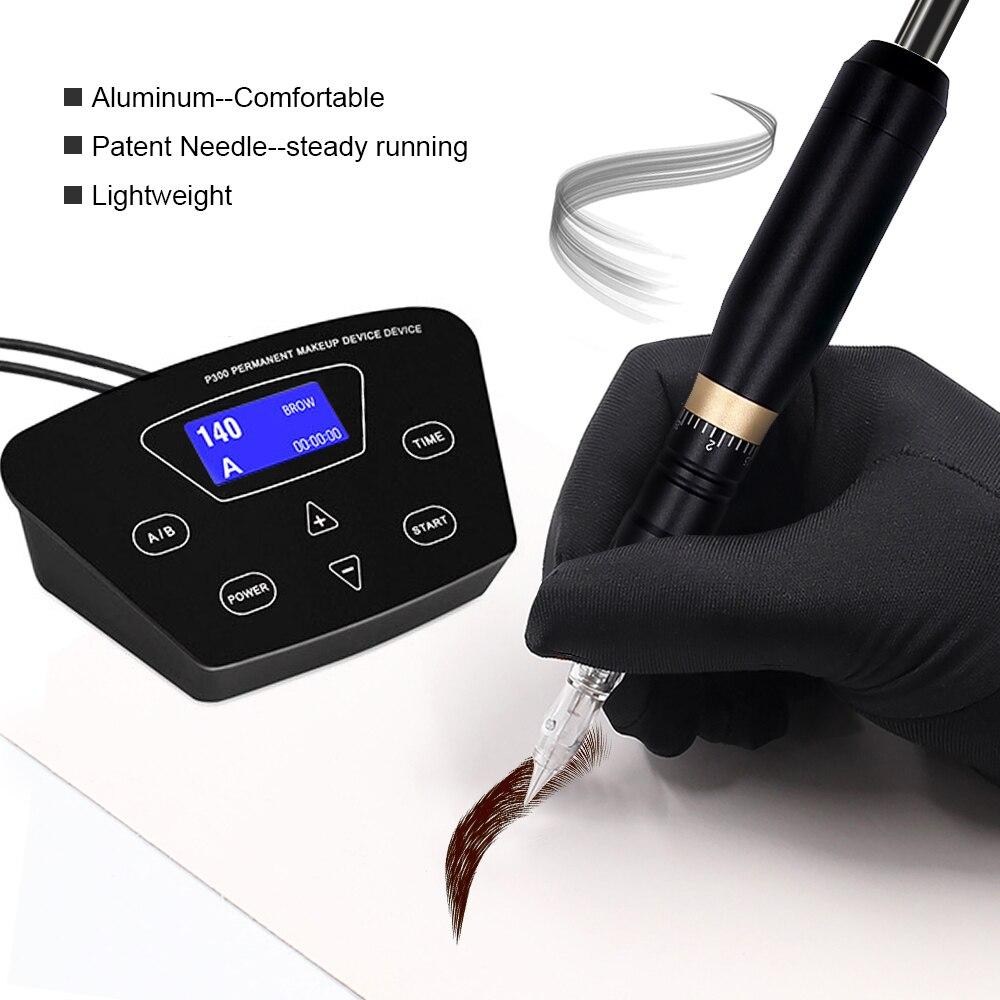 Professional Permanent Makeup Machine Tattoo Pen Kit MTS Beauty Device Cartridge Eyebrow Tattoo Machine For Microblading DIY