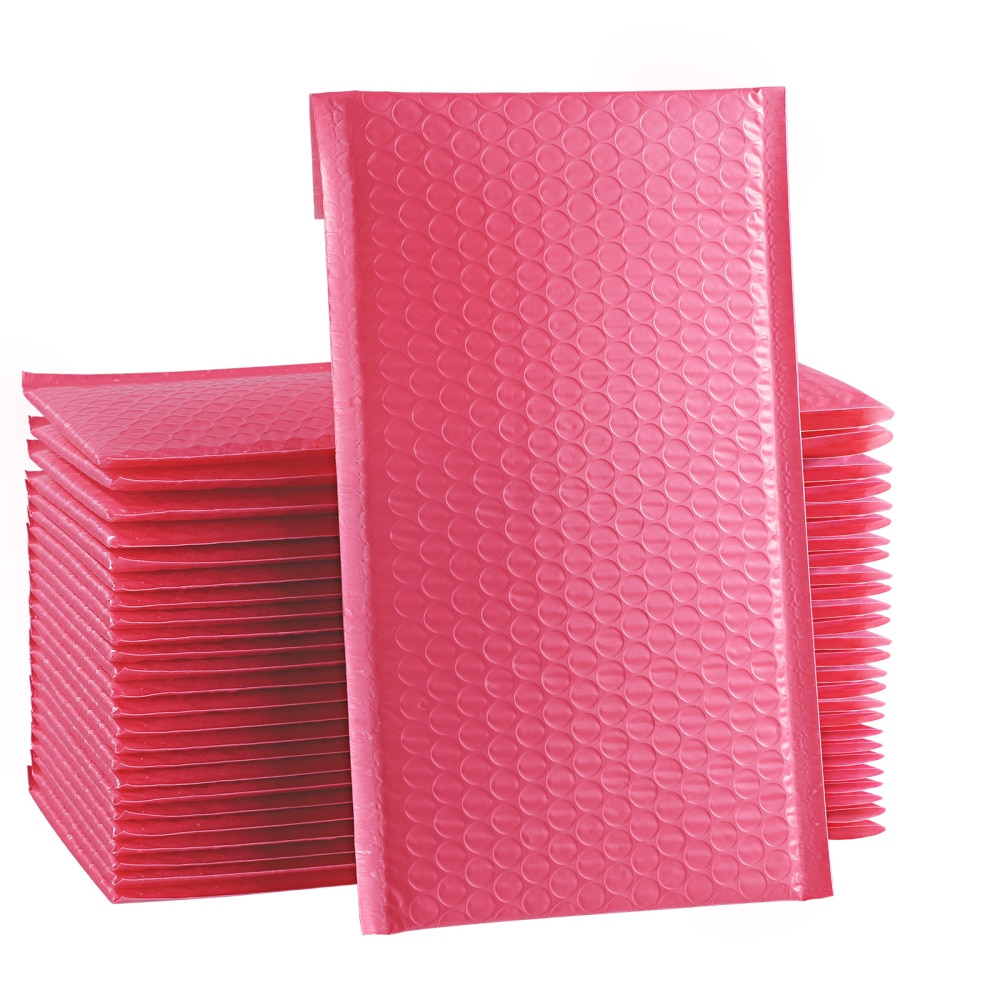 STOBOK Shockproof Padded Bubble Envelopes Bubble Mailers Waterproof Bubble Packing Envelope for Shipping )
