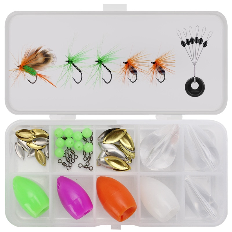 Lure Fly Fishing Bionic Bait Suit Insect Baits Including Fishing Booster enlarge