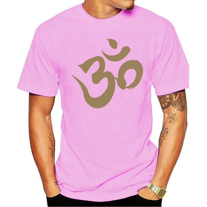 Футболка Мужская/женская с забавным принтом, крутая тенниска Om Ohm Aum, майка для йоги, буддизма, медитации, мандалы, индуического санскрита дзен|Футболки| | АлиЭкспресс