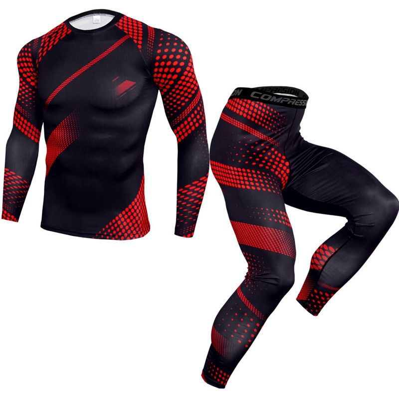 Spring 2021 Men Long Johns Winter Thermal Underwear Sets Brand Quick Dry Anti-Microbial Men's Stretc