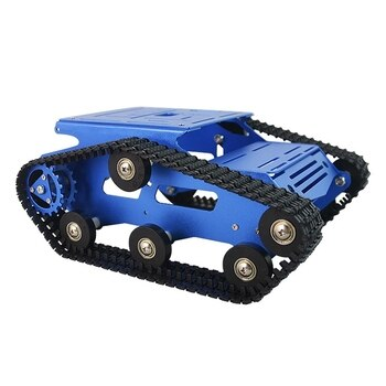 XIAOR GEEK Intelligent Smart Robot Tank Crawler Chassis Car Frame Kit Aluminum Alloy Tracked Body DIY
