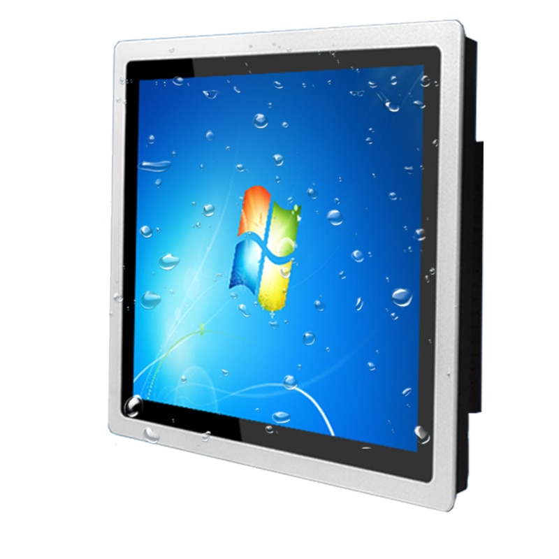 10.4 inch Embedded capacitive touch industries tablet,4G RAM 32G SSD core J1800/i3/i5/i7 ,standard cabinet installation pc