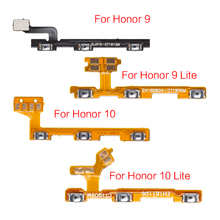 1 шт. гибкий кабель питания для Huawei Honor 9 10 Lite, гибкий кабель с боковой кнопкой увеличения громкости