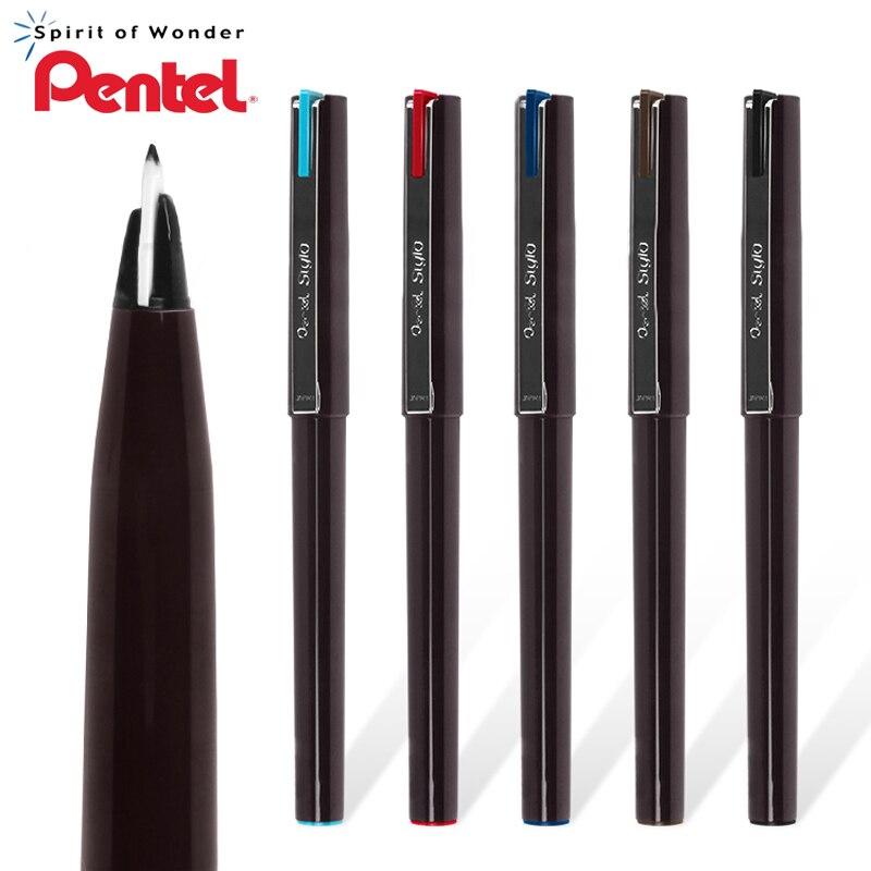 1 pçs caneta esboço de pentel jm20 esboço assinatura pintados à mão composição comic caneta linha gancho caneta duckbill design gel caneta