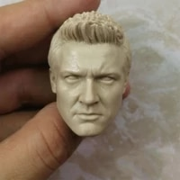 blank hot 16 scale hawkeye jeremy renner head sculpt unpainted
