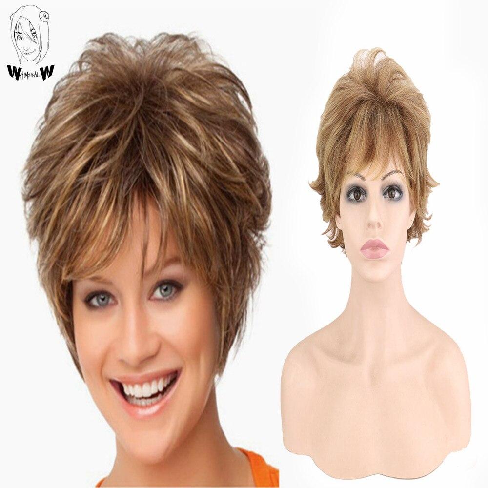 peruca de cabelo sintetico peruca de cabelo resistente ao calor das perucas femininas para mulheres