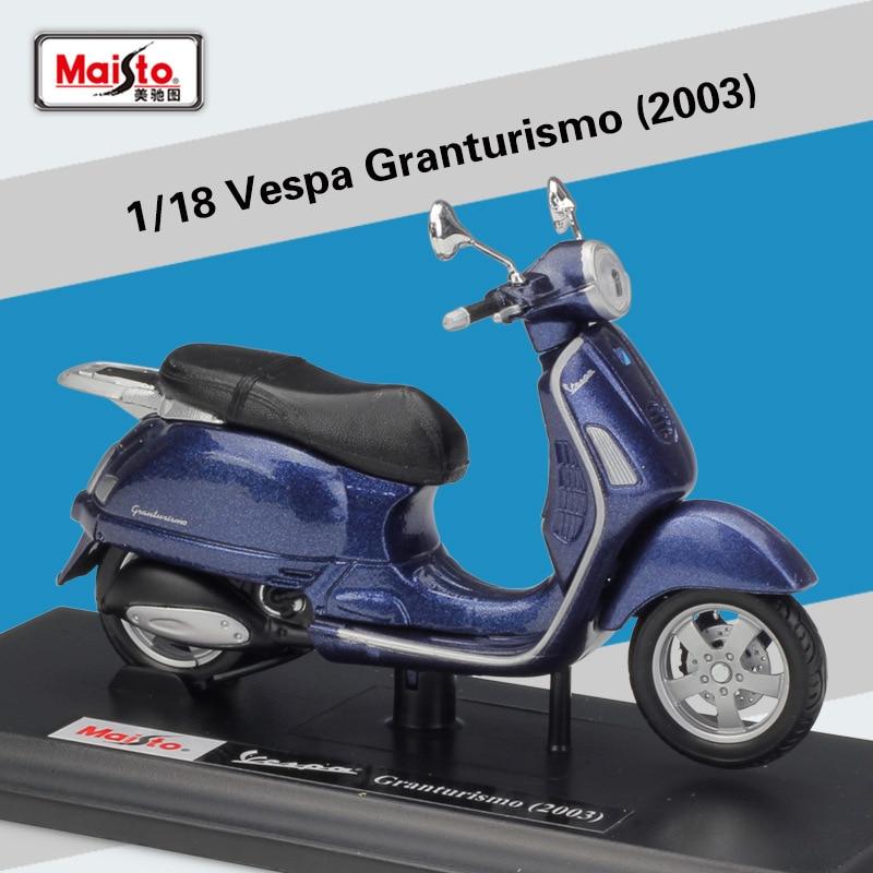 Welly 118 diecast 2003 granturismo alta simulador de moto moto scooter liga metal modelo