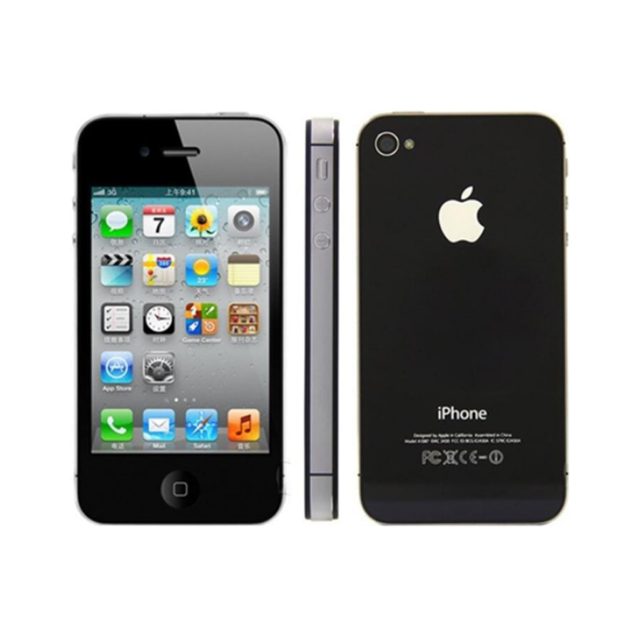 Used All Tested Well Original Apple iPhone 4 4s Mobile phone Unlocked icloud 8GB/16GB/32GB Cellphone Dual Core Smartphone