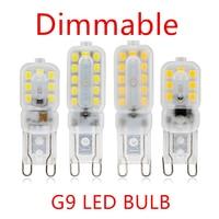 Приглушаемая светодиодная лампочка SMD2835 для люстры, галогенная лампочка для точесветильник, 10 шт., сменные лампочки для люстр, 220 светодиодн...