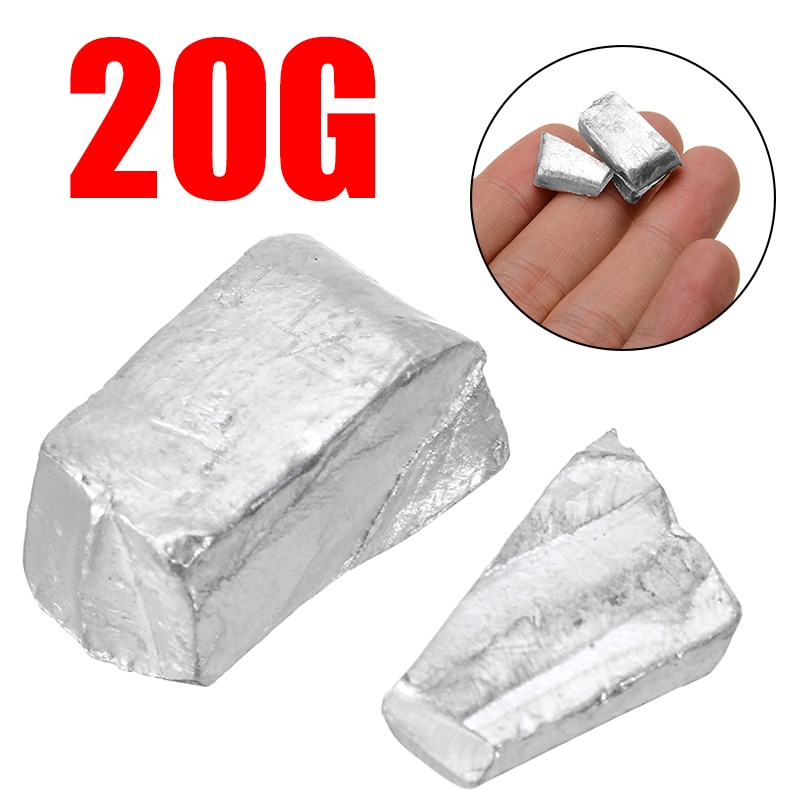 New 20g/0.7 oz 99.995% High Purity Pure Indium In Metal Bar Blocks Ingots Sample with 150 Degree Melting Point For Industry Tool 10g 99 9% vanadium metal in glas ampoule under argon pure element 23 sample