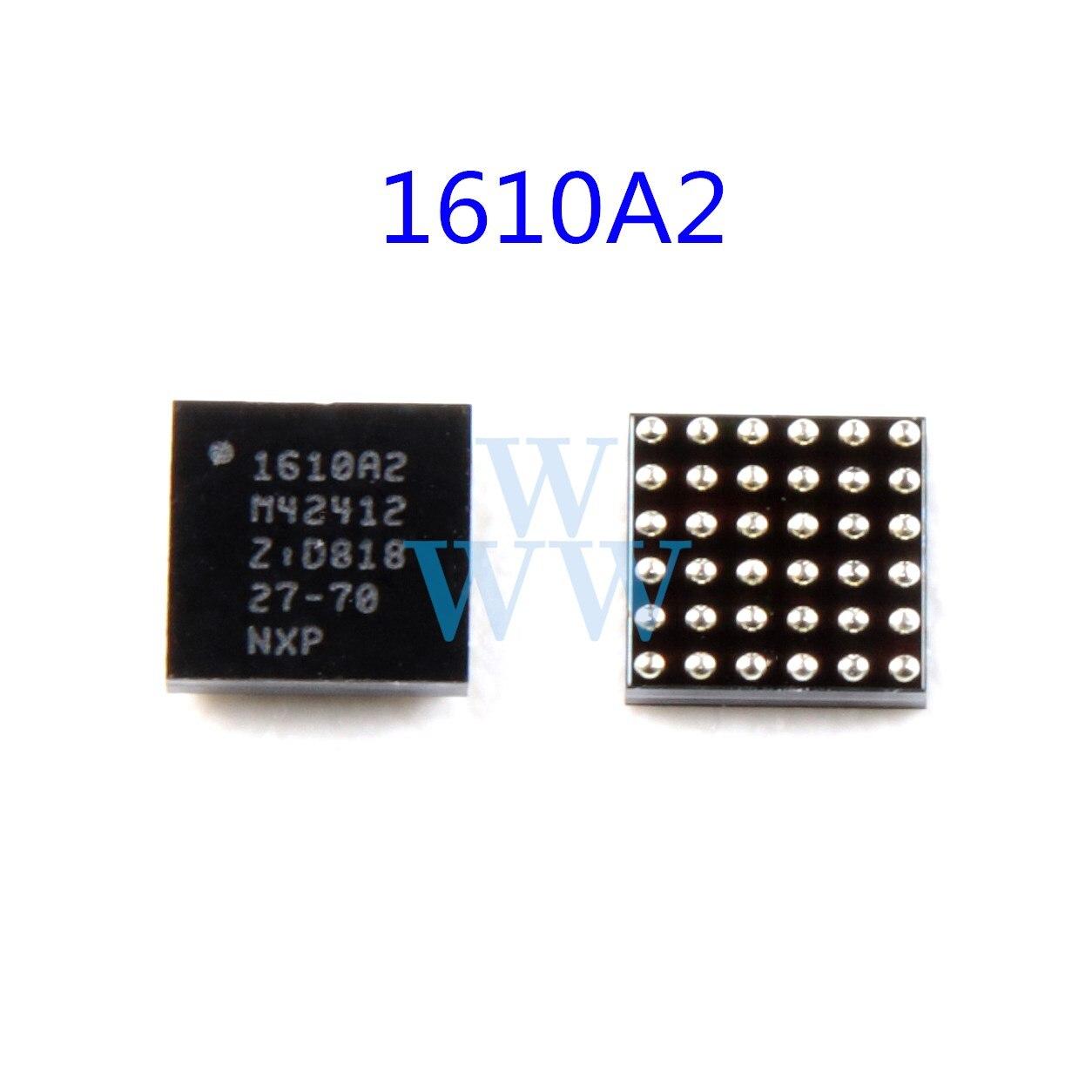1 pçs original 1610a2 carregador de carregamento ic chip para iphone 6 6g 6 plus u1700 usb ic chip 1610 1610a 36pin