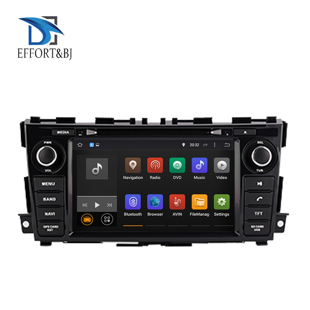 HD Android 9,0 4G RAM 64G reproductor de DVD del coche GPS wi-fi Radio BT DVR OBD para Nissan Teana Nissan/Altima 2013-2019 estéreo de coche pantalla Radio
