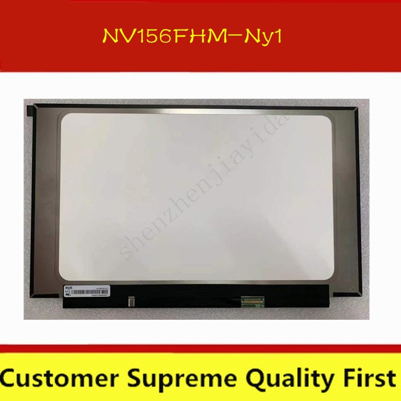 Оригинальный 144 Гц ЖК-экран 72% NTSC NV156FHM-Ny1 NV156FHM Ny1 15,6 дюймов Ips ЖК-экран 30 контактов EDP разрешение 1920X1080