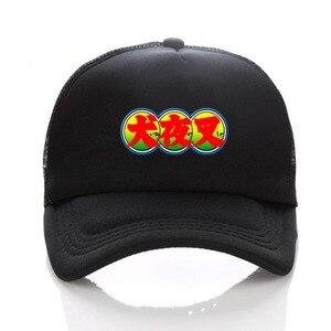 anime Inuyasha Kikyou cosplay cap Snapback adjusted Summer Mesh Sun Black Baseball Caps men women hat