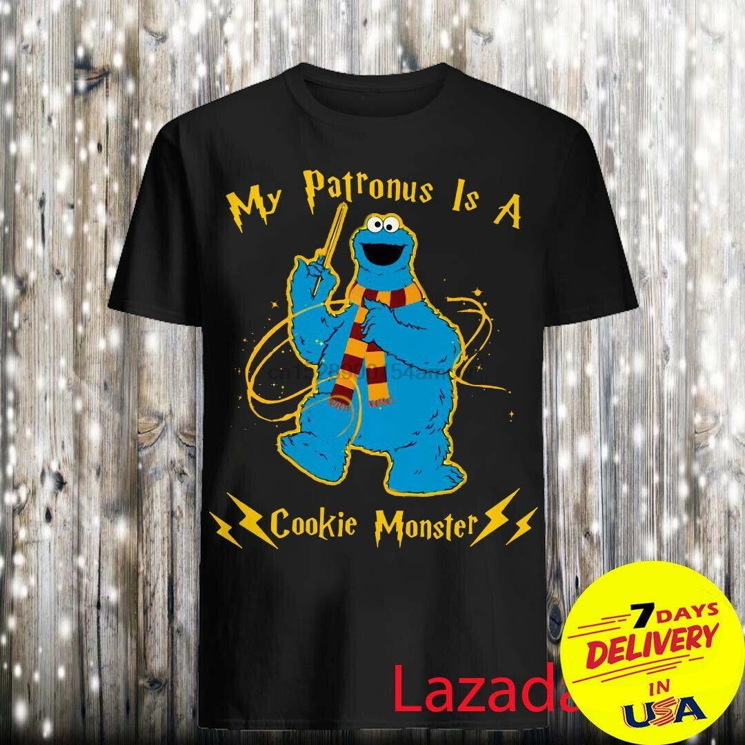 My patronus is a cookie Monster shirt