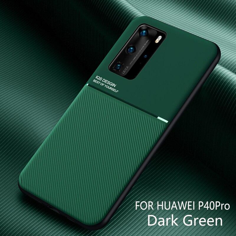 Textura de fondo de cuero Mate cubierta de la caja para Huawei P40 P30 P20 Pro amigo 20 Lite Nova 5T Y9 primer P Smart Z Plus 2019 Honor V30 20 Pro
