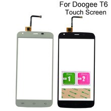 Touch Screen For Doogee T6 Digitizer Panel Touchscreen Sensor Front Glass Touchpad 5.5'' Mobile Phon