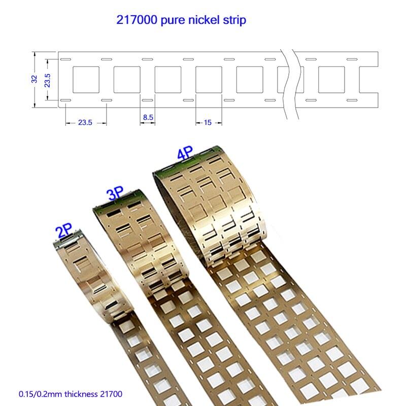 حامل شريط نيكل نقي 0.15 ، 1 كجم ، 0.2 مللي متر 21700 مم ، 2P ، 3P ، 4P ، لحام بطارية ليثيوم ، لحام نقطي ، حزام نيكل