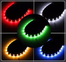 2 stuks van motorfiets auto LED decoratieve lichtbalk 30CM zachte strip voor Kia Forte Ceed Stonic Stinger Rio picanto Niro