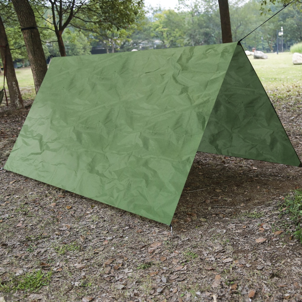 Portable Beach Tent Waterproof Outdoor Camping Mat Sunshade Cover Cloth Picnic Moisture-proof Pad Easily Installed Camping Tent vilead 4 sizes camping mat outdoor camping tent waterproof oxford cloth moisture pad thick beach mat picnic camping hiking